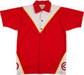 Basketball Collectibles:Uniforms, Early 1980's Steve Hawes Game Worn Atlanta Hawks Warmup Uniform....
