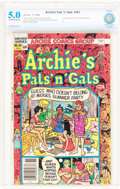 Modern Age (1980-Present):Humor, Archie's Pals 'n' Gals #161 (Archie, 1982) CBCS VG/FN 5.0 Off-white to white pages....