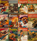 Books:Pulps, [Pulps], Edgar Rice Burroughs. Collection of Thirty-Eight Pulp Titles Featuring Early Published Works by Burroughs. Various ...