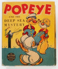 Big Little Book:Cartoon Character, Big Little Book #1499 Popeye (Whitman, 1939) Condition: VF/NM....