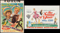 "Movie Posters:Academy Award Winners, The Sound of Music & Others Lot (20th Century Fox, R-1975). Belgian (14"" X 22""), Trimmed Belgian (14"" X 19""), and French Aff... (Total: 3 Items)"