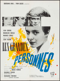 "Time Out for Love & Other Lot (Fernand Rivers, 1961). French Affiches (2) (23.5"" X 31.5""). Foreign. ... (T..."