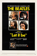 """Movie Posters:Rock and Roll, Let It Be (United Artists, 1970). One Sheet (27"""" X 41"""").. ..."""