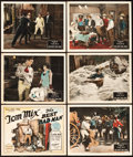 """Movie Posters:Western, The Best Bad Man (Fox, 1925). Title Lobby Card and Lobby Cards (5) (11"""" X 14"""").. ... (Total: 6 Items)"""