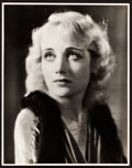 "Movie Posters:Miscellaneous, Carole Lombard by William E. Thomas (Pathe, 1920s). AutographedPortrait Photo (11"" X 14"").. ..."