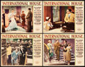 """Movie Posters:Comedy, International House (Paramount, 1933). Lobby Cards (4) (11"""" X14"""").. ... (Total: 4 Items)"""