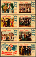 "Movie Posters:Musical, Yankee Doodle Dandy (Warner Brothers, 1942). Lobby Card Set of 8(11"" X 14"").. ... (Total: 8 Items)"