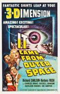 "Movie Posters:Science Fiction, It Came from Outer Space (Universal International, 1953). One Sheet(27"" X 41.5"") 3-D Style.. ..."