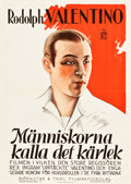 """Movie Posters:Drama, The Married Virgin (BT Film, R-1926). Swedish One Sheet (28"""" X39.5"""").. ..."""