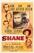 "Movie Posters:Western, Shane (Paramount, 1953). One Sheet (27"" X 41.5""). Ercoli BriniArtwork.. ..."