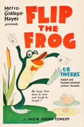 "Movie Posters:Animated, Flip the Frog (MGM, 1930). Stock One Sheet (27"" X 41"").. ..."