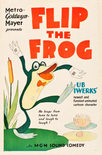 """Flip the Frog (MGM, 1930). Stock One Sheet (27"""" X 41"""")"""