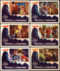 "Movie Posters:Film Noir, The Treasure of the Sierra Madre (Warner Brothers, 1948). LobbyCards (6) (11"" X 14"").. ... (Total: 6 Items)"