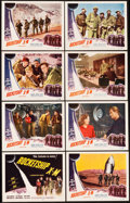 "Movie Posters:Science Fiction, Rocketship X-M (Lippert, 1950). Lobby Card Set of 8 (11"" X 14"").. ... (Total: 8 Items)"