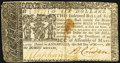 Colonial Notes:Maryland, Maryland March 1, 1770 $6 Fine.. ...