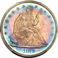 Proof Seated Half Dollars, 1873 50C No Arrows PR66 PCGS Secure. CAC. WB-102....