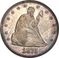 Proof Twenty Cent Pieces, 1875 20C PR64 PCGS. BF-1, R.1....