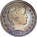 Proof Barber Quarters, 1900 25C PR66 NGC. CAC....