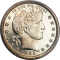 Proof Barber Quarters, 1895 25C PR67 Cameo PCGS. CAC....