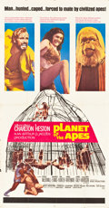 "Movie Posters:Science Fiction, Planet of the Apes (20th Century Fox, 1968). Three Sheet (41"" X78.5"").. ..."
