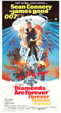 "Movie Posters:James Bond, Diamonds are Forever (United Artists, 1971). International ThreeSheet (41"" X 81"").. ..."