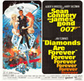 "Movie Posters:James Bond, Diamonds are Forever (United Artists, 1971). International Six Sheet (81"" X 76"").. ..."