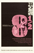 "Movie Posters:Foreign, 8½ (Embassy, 1963). One Sheet (27"" X 41"") & Life Magazine Poster (30"" X 40"").. ... (Total: 2 Items)"