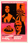 "Movie Posters:Exploitation, Chafed Elbows/Scorpio Rising Combo (Filmmakers Distributing Center,1966). One Sheet (27"" X 41"").. ..."