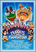 "Movie Posters:Comedy, The Muppets Take Manhattan (Tri-Star, 1984). One Sheet (27.5"" X 40""). Comedy.. ..."