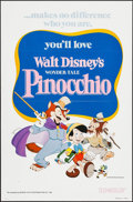 """Movie Posters:Animation, Pinocchio & Other Lot (Buena Vista, R-1978). One Sheets (2)(27"""" X 41""""). Animation.. ... (Total: 2 Items)"""