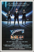 """Movie Posters:Action, Superman II & Other Lot (Warner Brothers, 1981). One Sheets (2)(27"""" X 41"""") Advance. Action.. ... (Total: 2 Items)"""