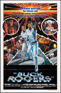 """Buck Rogers in the 25th Century (Universal, 1979). One Sheet (27"""" X 41"""") Flat Folded Style B. Science Fiction..."""