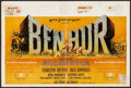 "Movie Posters:Academy Award Winners, Ben-Hur (MGM, 1960). Belgian (14.25"" X 22.25""). Academy Award Winners.. ..."