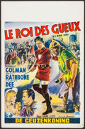 "Movie Posters:Adventure, If I Were King (Paramount, R-1950s). Belgian (14.25"" X 21.75"").Adventure.. ..."