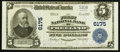 National Bank Notes:Pennsylvania, Freeland, PA - $5 1902 Plain Back Fr. 608 The First NB Ch. # 6175....