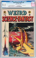 Golden Age (1938-1955):Science Fiction, Weird Science-Fantasy #28 (EC, 1955) CGC VF+ 8.5 Cream to off-whitepages....