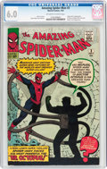 Silver Age (1956-1969):Superhero, The Amazing Spider-Man #3 (Marvel, 1963) CGC FN 6.0 Off-white to white pages....