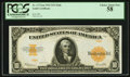 Large Size:Gold Certificates, Fr. 1173a $10 1922 Mule Gold Certificate PCGS Choice About New 58.....