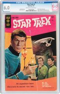 Silver Age (1956-1969):Science Fiction, Star Trek #1 (Gold Key, 1967) CGC FN 6.0 Off-white to whitepages....
