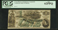 Confederate Notes:1862 Issues, Counterfeit 1862 $1, CT-45/342.. ...