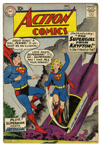 Action Comics #252 (DC, 1959) Condition: GD. Origin and first appearances of Supergirl and Metallo. Curt Swan cover. Al...