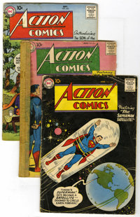 Action Comics #229 and 231-235 Group (DC, 1957) Condition: Average GD+. Includes #229, 231 (PR), 232 (Curt Swan's first...