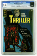 Silver Age (1956-1969):Horror, Boris Karloff Thriller #2 File Copy (Gold Key, 1963) CGC NM 9.4Off-white pages. Last issue with this title (becomes Boris...
