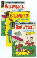 Bronze Age (1970-1979):Cartoon Character, Bullwinkle File Copies Group (Gold Key, 1973) Condition: AverageVF+. Included here are four copies of #6 and two copies of ...(Total: 6 Comic Books)