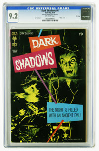 Dark Shadows #6 File Copy (Gold Key, 1970) CGC NM- 9.2 Off-white to white pages. Photo cover. Joe Certa art. Overstreet...