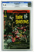 Bronze Age (1970-1979):Horror, Dark Shadows #17 File Copy (Gold Key, 1972) CGC NM 9.4 Off-white towhite pages. Painted cover. Joe Certa art. Overstreet 20...