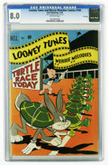 Golden Age (1938-1955):Cartoon Character, Looney Tunes and Merrie Melodies Comics #109 File Copy (Dell, 1950)CGC VF 8.0 Off-white pages. Highest CGC grade for this i...