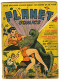 Golden Age (1938-1955):Science Fiction, Planet Comics #20 (Fiction House, 1942) Condition: GD. Cover by DanZolnerowich. Art by Rudy Palais, Art Saaf, and others. O...