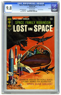 Space Family Robinson #28 File Copy (Gold Key, 1968) CGC NM/MT 9.8 Off-white pages. Last 12 cent issue. George Wilson pa...