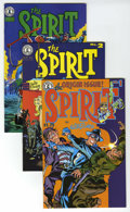 Modern Age (1980-Present):Miscellaneous, The Spirit Group (Kitchen Sink, 1983-93) Condition: Average VF/NM. Includes issues #1, 2, 3, 4, 5, 6, 7, 8, 9, 10, 11, 12, 1... (Total: 75 Comic Books)